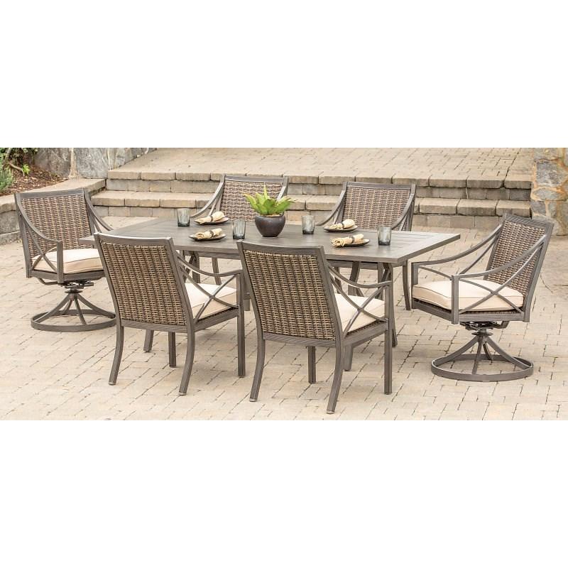 Alfresco Davenport 7 Piece Outdoor Dining Set