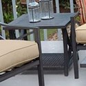 Apricity Outdoor Davenport Woven and Aluminum End Table - Item Number: APL06012P01