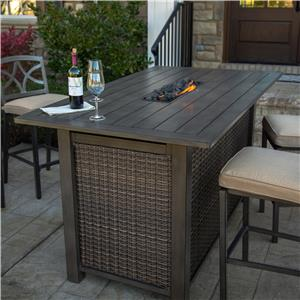 Agio Davenport Bar Height Fire Pit