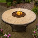 Apricity Outdoor Fire Pits Conquest Fire Pit w/ Porcelain Top - 3161811