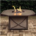 "Agio Fire Pits Kensington 47"" Fire Pit - Item Number: ARH11301P01"