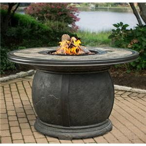 Rochester Slate Top Gas Firepit