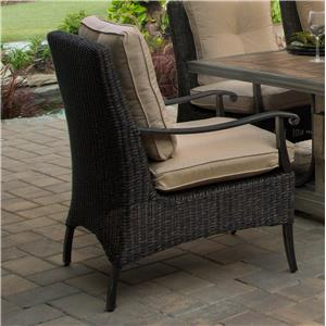Woven Cushion Dining Chair
