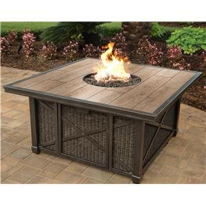 Porcelain Top Gas Fire pit