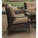 Agio Franklin 2016 Alumicast Woven Cushion Dining Chair - Item Number: AFH03900P01