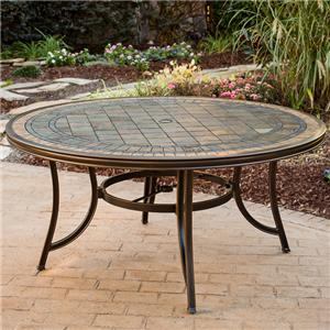 """Agio Greenbrier 60"""" Round Dining Table"""