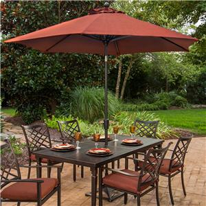 Agio Haywood 9 Ft. Market Umbrella