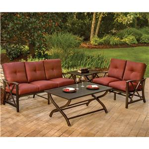 Agio Haywood 4 Piece Deep Seating Set