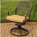 Agio Heritage 3-Piece Outdoor Chat Set with Alumicast Chairs and End Table - 673-2020-216-1+2x50-157591-1145-2