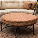 Apricity Outdoor Heritage Round Ottoman for Sectional Sofa - AAS2080