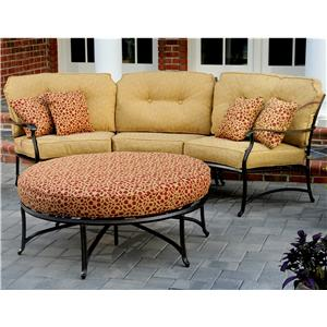 Agio Heritage Semi-Round Sectional Sofa