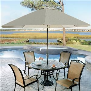 Agio Heritage 9ft Market Umbrella