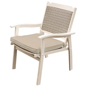 Outdoor Dining Arm Chair