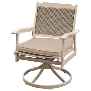 Swivel Rocker Arm Chair