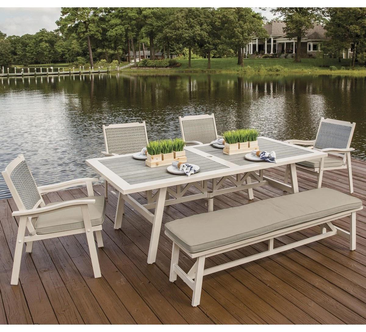 Alfresco belle terra outdoor dining set