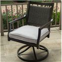 Agio Maddox Swivel Rocker Dining Chair - Item Number: AFH08801P01