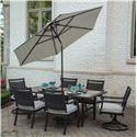 Agio Maddox Umbrella with Manual Tilt