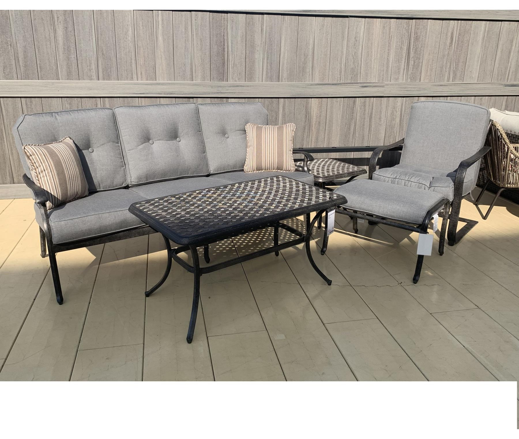 Outdoor Seating Set