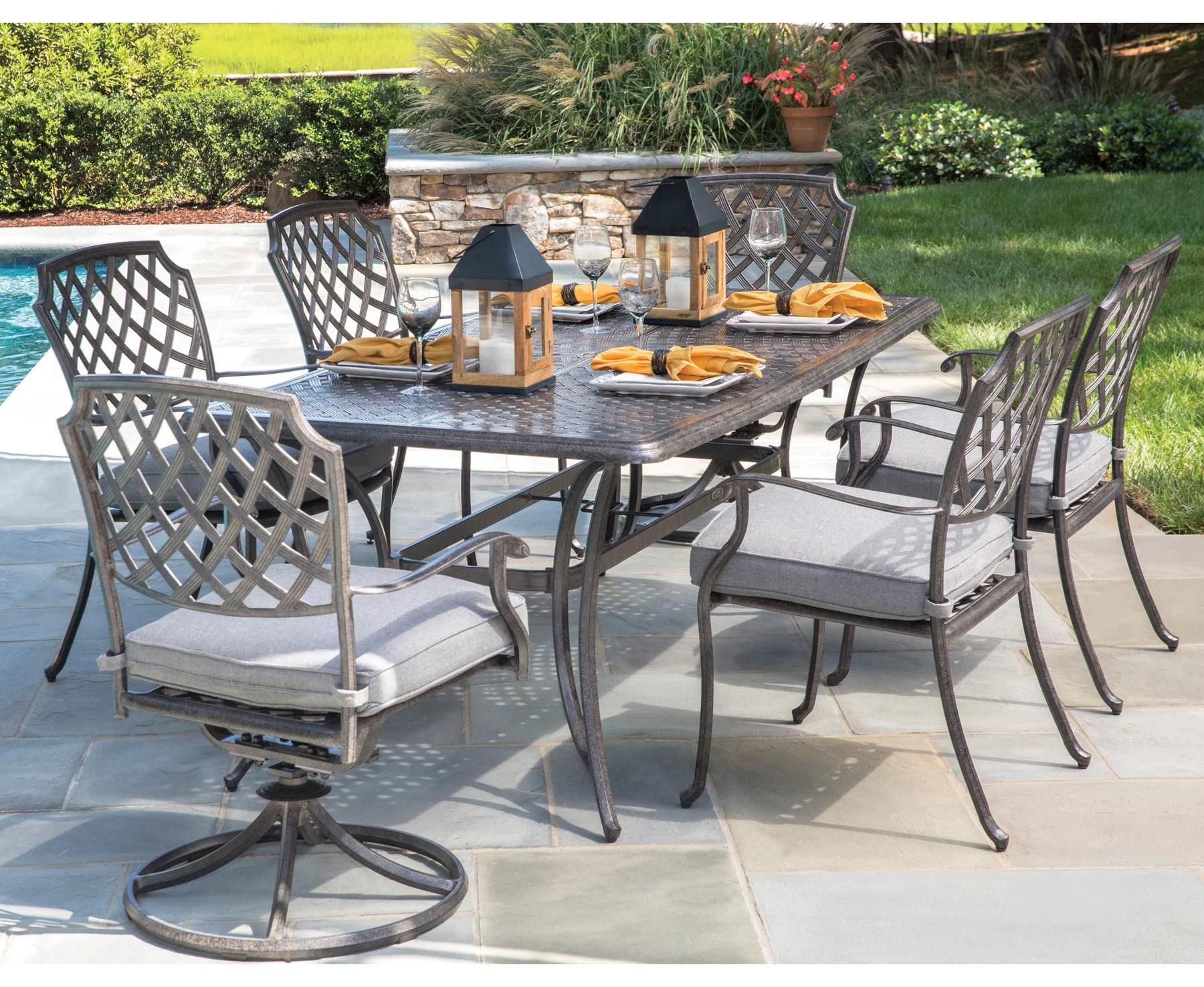 Rectangular Outdoor Dining Set