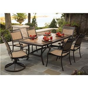 Agio Maguire 7Pc Outdoor Dining Set