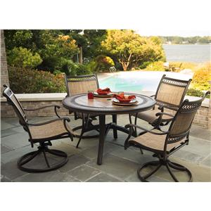 Agio Maguire 5Pc Dining Set