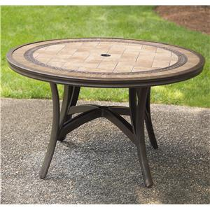 Agio Maguire Aluminum Round Dining Table