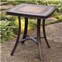 Agio Maguire Aluminum Cafe Table - Item Number: ALH32517P01