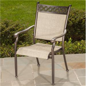 Manhattan Sling Dining Chair by Apricity Outdoor