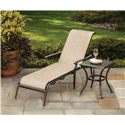 Apricity Outdoor Manhattan Square Stamped Top Side Table - APS02614