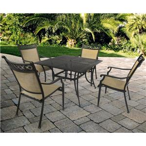 Agio Manhattan Outdoor Dining Set