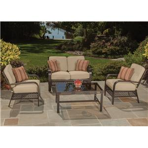 Agio Manhattan 4 Pc Deep Seating Set