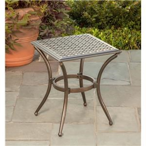 Agio Manhattan 2016 Square End Table