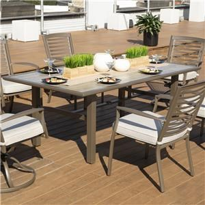 Rectangular Outdoor Dining Table