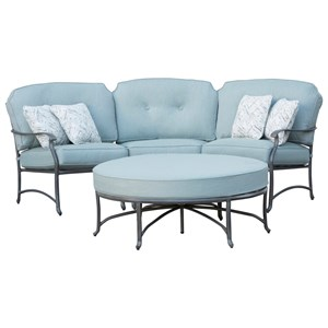 Outdoor Semi-Round Sectional
