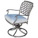 Apricity Outdoor Melbourne by Agio Swivel Rocker Chair - Item Number: AAS25601P10