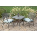 Agio Melbourne by Agio Outdoor Bistro Set - Item Number: ALQ61615P03+2xAAS25600P10