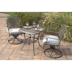 agio melbourne by agio outdoor bistro set