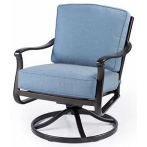 Agio Parkdale Swivel Rocker Chair