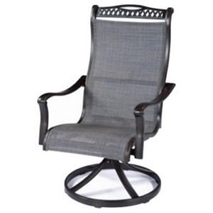 Sling Swivel Rocker Chair