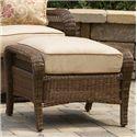 Agio Pinehurst Steel Woven Ottoman with Cushion - BGS13108