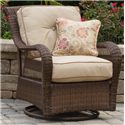 Apricity Outdoor Pinehurst Steel Woven Swivel Glider - BGS13123