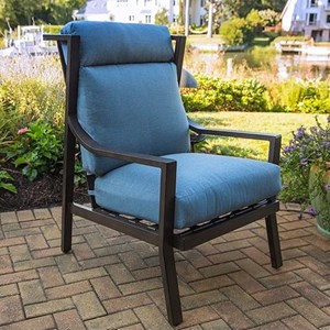 High Back Deep Seating Lounge Chair