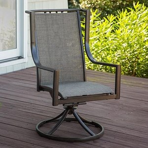 High Back Swivel Rocker Chair