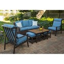 Apricity Outdoor Portland Agio Outdoor Conversation Set - Item Number: Outdoor Conversation Set 1