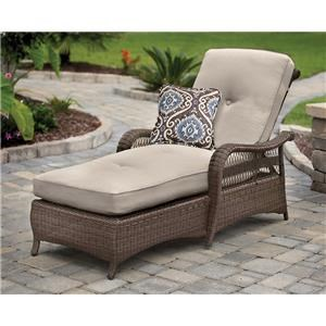 Chaise Lounge w/ 1 Pillow