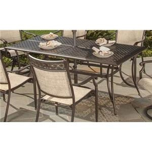 Morris Home Furnishings Sabana Sabana Outdoor Dining Table