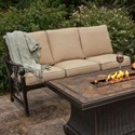 Apricity Outdoor Seville Outdoor Sofa - Item Number: ACQ05406P01