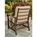 Agio Seville Outdoor Aluminum Spring Chair