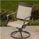 Agio Statton Swivel Rocker Chair