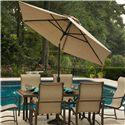 Agio Sullivan Umbrella - Item Number: AZB00205P43+BZB00504P18